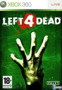 Portada oficial de Left 4 Dead para Xbox 360