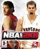 Portada oficial de NBA 2K8 para Xbox 360