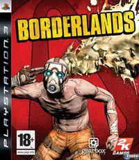 Portada oficial de Borderlands para PS3