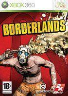 Portada oficial de Borderlands para Xbox 360