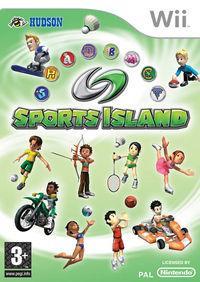Portada oficial de Sports Island para Wii