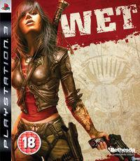 Portada oficial de WET para PS3