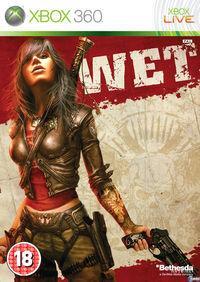 Portada oficial de WET para Xbox 360