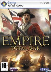 Portada oficial de Empire: Total War para PC