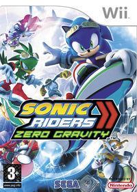 Portada oficial de Sonic Riders: Zero Gravity para Wii