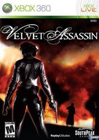 Portada oficial de Velvet Assassin para Xbox 360