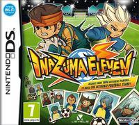 Portada oficial de Inazuma Eleven para NDS