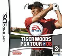 Portada oficial de Tiger Woods PGA Tour 08 para NDS