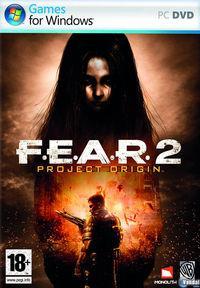 Portada oficial de F.E.A.R. 2: Project Origin para PC