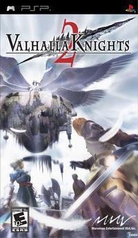 Portada oficial de Valhalla Knights 2 para PSP
