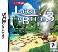 Portada oficial de Lost in Blue 3 para NDS