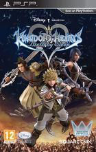 Portada oficial de Kingdom Hearts: Birth by Sleep para PSP