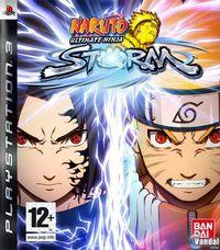Portada oficial de Naruto: Ultimate Ninja Storm para PS3