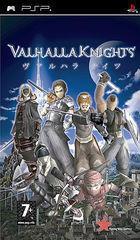 Portada oficial de Valhalla Knights para PSP