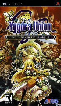 Portada oficial de Yggdra Union para PSP