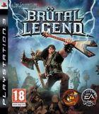 Portada oficial de Br�tal Legend para PS3
