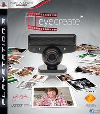 Portada oficial de EyeCreate para PS3