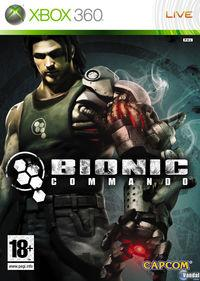 Portada oficial de Bionic Commando para Xbox 360