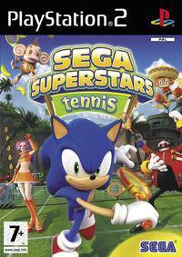 Portada oficial de Sega Superstars Tennis para PS2