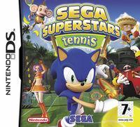 Portada oficial de Sega Superstars Tennis para NDS