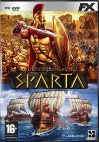 Portada oficial de Sparta - La batalla de las Termópilas para PC