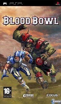 Portada oficial de Blood Bowl Tactics para PSP