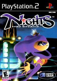 Portada oficial de NiGHTS into Dreams para PS2