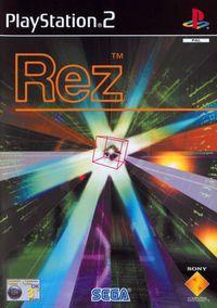 Portada oficial de Rez para PS2