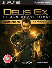 Portada oficial de Deus Ex: Human Revolution para PS3