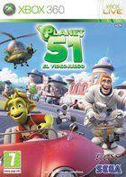 Portada oficial de Planet 51 para Xbox 360