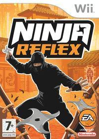 Portada oficial de Ninja Reflex para Wii