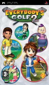 Portada oficial de Everybody's Golf Open Tee 2 para PSP