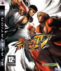 Portada oficial de Street Fighter IV para PS3