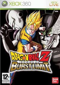 Portada oficial de Dragon Ball Z Burst Limit para Xbox 360