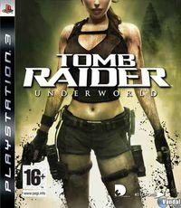 Portada oficial de Tomb Raider Underworld para PS3