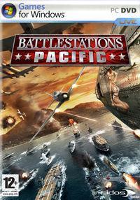 Portada oficial de Battlestations: Pacific para PC