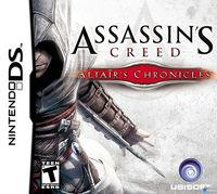 Portada oficial de Assassin's Creed: Altair's Chronicles para NDS
