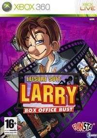 Portada oficial de Leisure Suit Larry Box Office Bust para Xbox 360