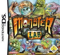 Portada oficial de Monster Lab para NDS