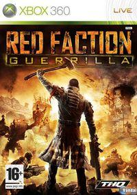 Portada oficial de Red Faction: Guerrilla para Xbox 360
