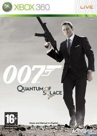 Portada oficial de 007: Quantum of Solace  para Xbox 360