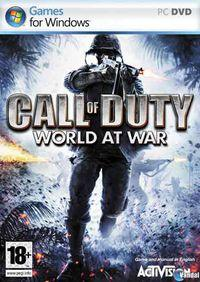 Portada oficial de Call of Duty: World at War para PC