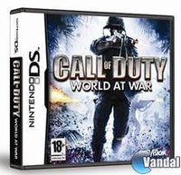 Portada oficial de Call of Duty: World at War para NDS