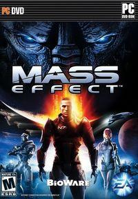 Portada oficial de Mass Effect para PC
