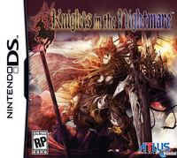 Portada oficial de Knights in the Nightmare para NDS