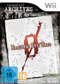 Portada oficial de Resident Evil Zero Wii Edition para Wii