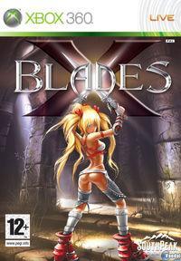 Portada oficial de X-Blades para Xbox 360