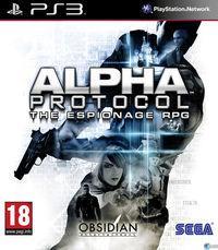 Portada oficial de Alpha Protocol para PS3