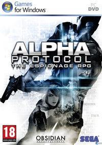 Portada oficial de Alpha Protocol para PC