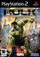 Portada oficial de The Incredible Hulk para PS2